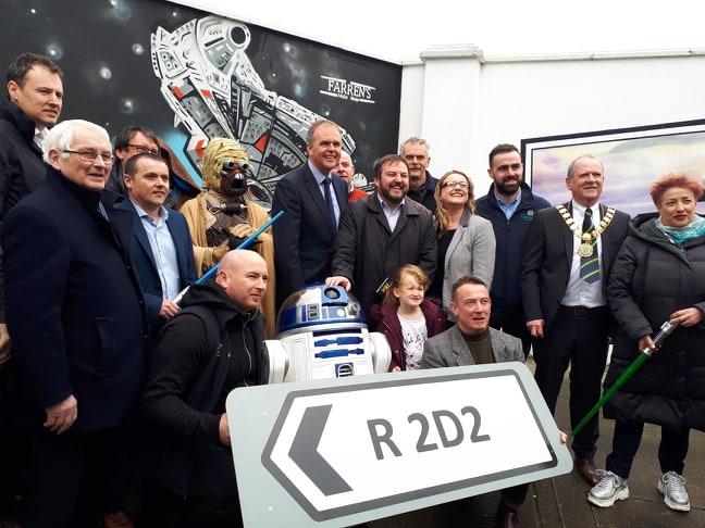 Star Wars R2D2 Road