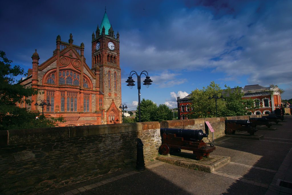 Derry City Walls, Derry - Londonderry