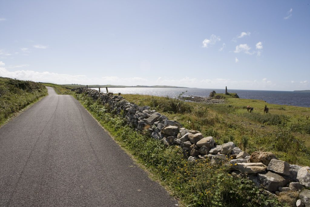 Coast Road near Mountcharles, Co. Donegal