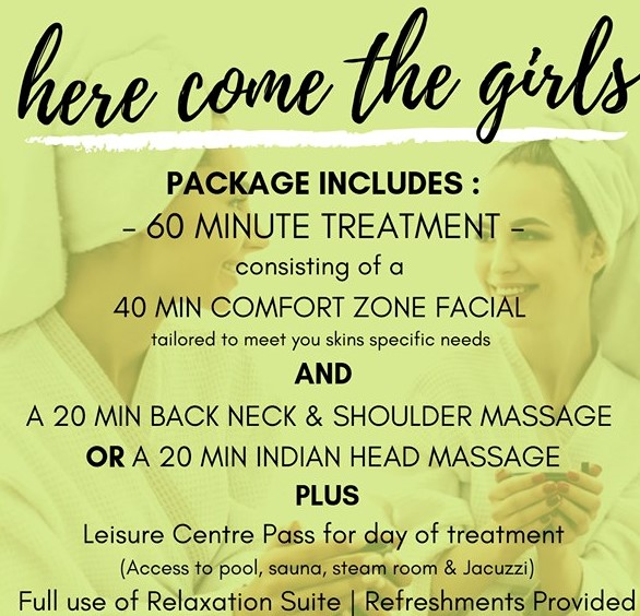 Here Come The Girls Spa Package