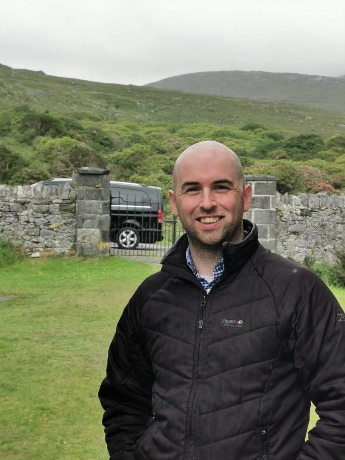 Tour guide Henry Doohan